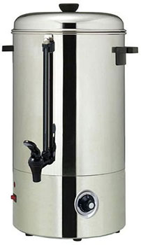 Hot beverage water dispenser